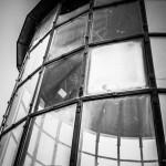 Der 1826 erbaute Leuchtturm am Kap Arkona auf der Insel Rügen, auch Schinkelturm genannt.