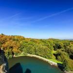 Aussichtsplattform von den Externsteinen im Teutoburger Wald