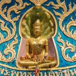 Tempel mit Statue auf Ko Samui
