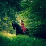 Zausels Geduld beim Fotoshooting wird mit Möhren und Leckerlis belohnt
