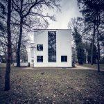 Das rekonstruierte Haus des Bauhausmeisters Moholny-Nagy.