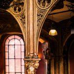 Gusseiserne Stützpfeiler in der Cumberlandschen Galerie Hannover