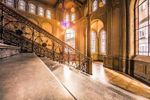 Treppenhaus in der Cumberlandschen Galerie Hannover