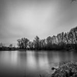 Früher Kiesgrube, heute Anglerparadies nähe Ammelgoßwitz bei Belgern in Sachsen | www.metapherschwein.de, © 2015 Michael Eichhorn
