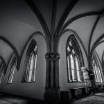 Der aufwendig sanierte Kreuzgang in der Klosterkirche Loccum