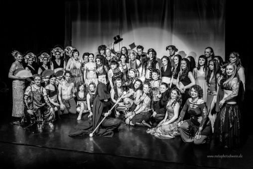 Gruppenbild | Proserpina Nacht 2016 | © Michael Eichhorn